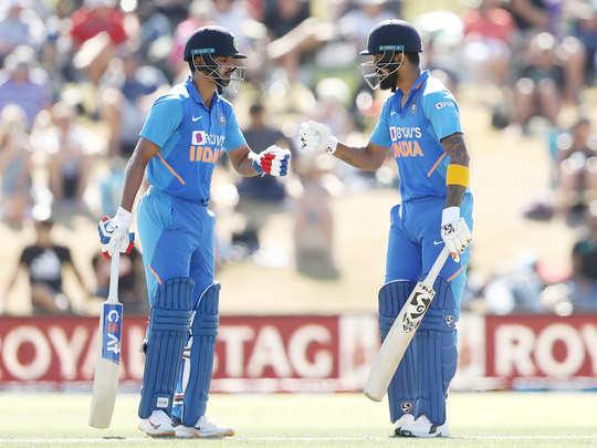 Shreyas Iyer and KL Rahul
