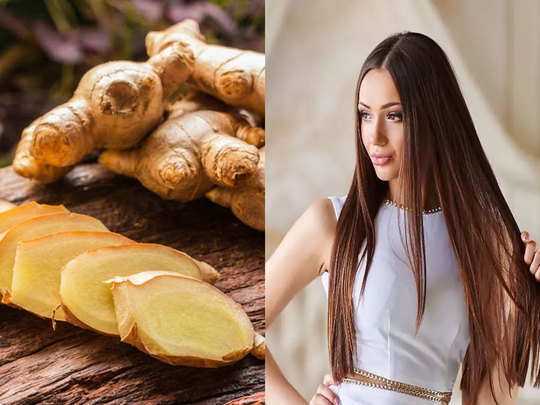 benefits of using ginger for long hair