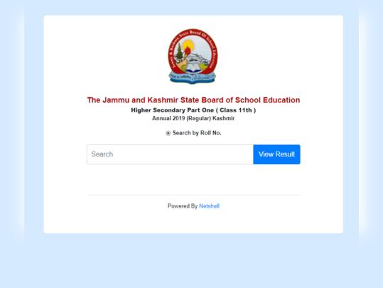 jkbose 11th result kashmir division 2019