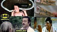 Lovers day memes : காதலர் தின மீம்ஸ்... உங்களை வயிறு வலிக்க சிரிக்க வைக்கும்