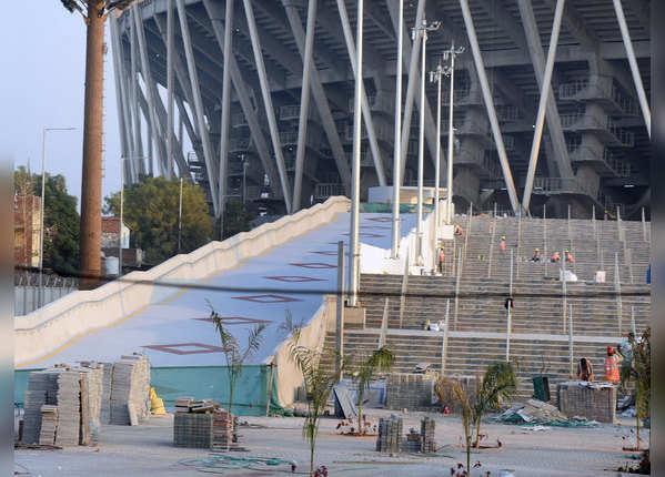 L&T ने बनाया है यह नया स्टेडियम
