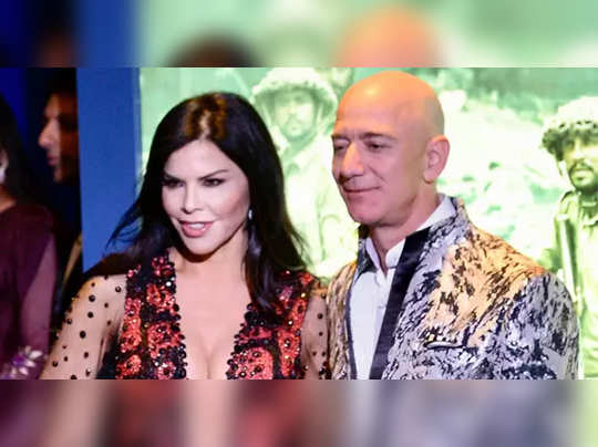 Jeff Bezos and girl friend Lauren Sanchez