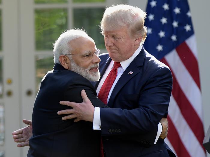 kem chho trump why did us president donald trump coming gujarat india