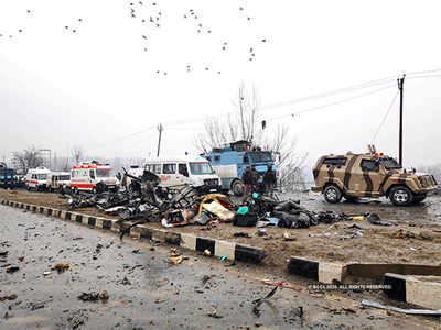 पुलवामा हमले में शहीद हुए थे सीआरपीएफ के 40 जवान