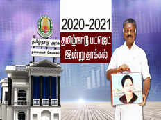 tamil nadu deputy cm o panneerselvam budget 2020 live updates and highlights