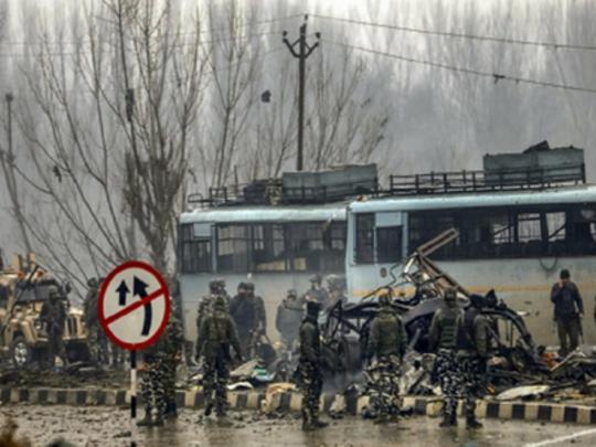 पुलवामा दहशतवादी हल्ला