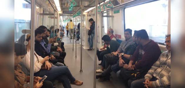 नोएडा मेट्रो की सौगात: अब एक्वा लाइन कोच के अंदर कर सकेंगे प्री-वेडिंग, बर्थ डे पार्टी