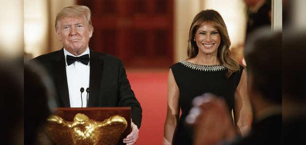 अमेरिकी राष्ट्रपति डोनाल्ड ट्रंप के स्वागत की तैयारियां जोरों पर