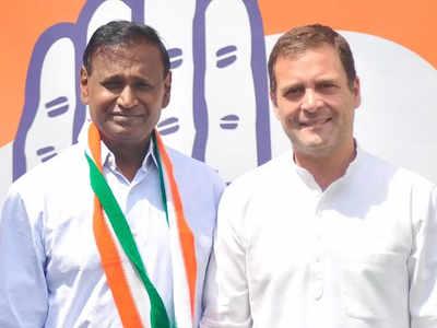 कांग्रेस के पूर्व अध्यक्ष राहुल गांधी के साथ उदित राज (फाइल फोटो)