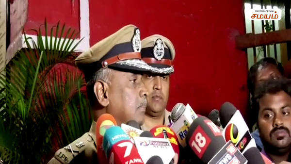 chennai police commissioner press meet about anti caa protest