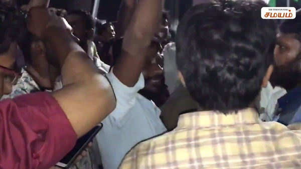 chennai protest attacked by police
