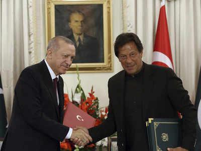 तुर्की के राष्ट्रपति एर्दोआन और पाकिस्तान के पीएम इमरान खान
