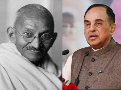 सुब्रमण्यन स्वामी ने महात्मा गांधी के हत्या की दोबारा जांच की मांग की