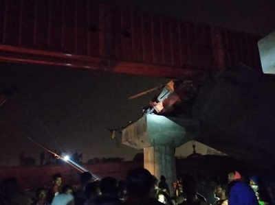 मालदा में घटनास्थल का मंजर