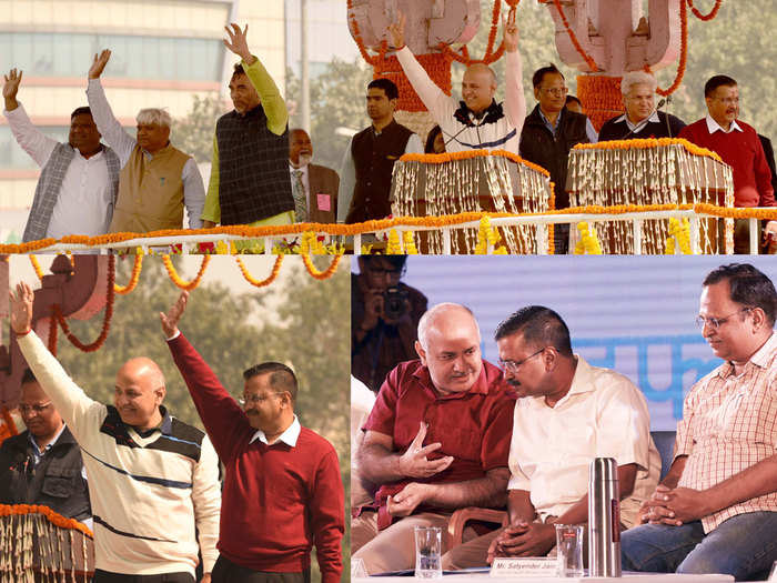 profile of chief minister and ministers of delhi