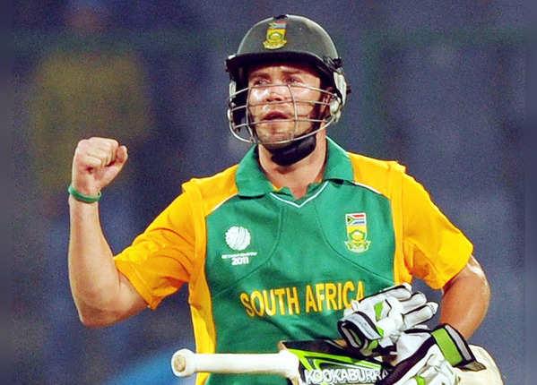 कप्तान एबी ने 44 गेंदों पर बनाए 149 रन