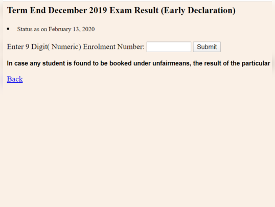 ignou tee results dec 2019
