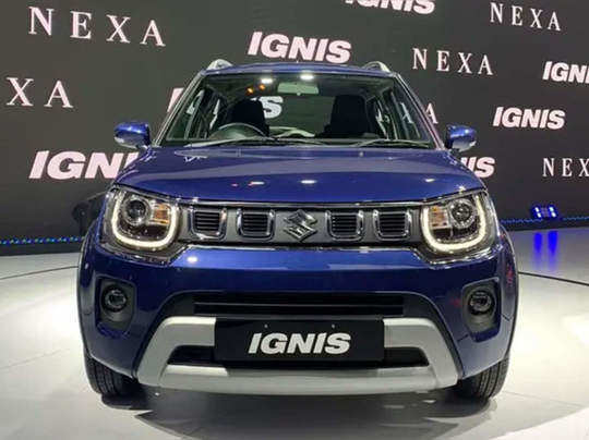 2020 maruti Suzuki Ignis facelift -NBT