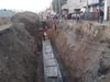 गाजियाबादः पाइप लाइन बनाने के लिए खुदाई दौरान हादसा, मिट्टी के ढेर में दबे 5 मजदूर