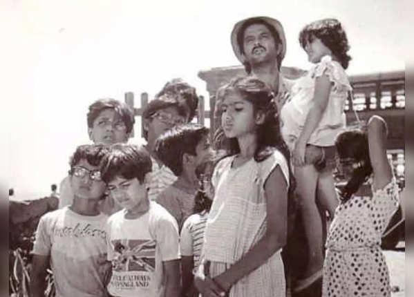 स्टारकास्ट में बच्चे