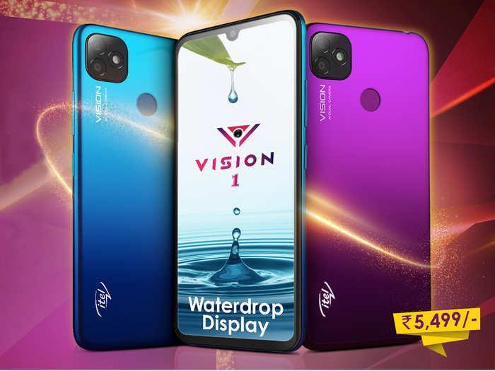 iPhone 11 जैसे कैमरे वाला फोन Itel Vision 1 लॉन्च, कीमत 5500 से भी कम