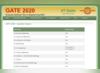 Gate Question Paper 2020: सभी विषयों के क्वेश्चन पेपर जारी, यहां देखें
