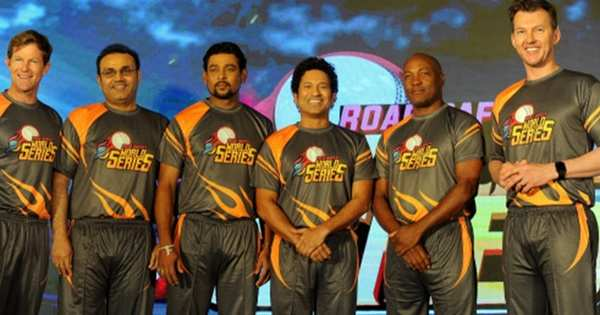 sachin to lead india legends team and schedule announced