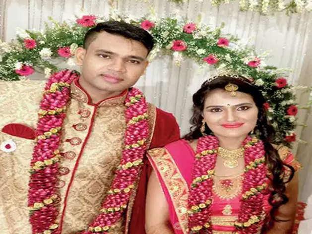 पति के साथ सुष्मिता
