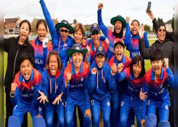 थाइलैंड ने चौंकाते हुए वर्ल्ड कप में बनाई जगह