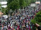சென்னை: போராட்டம் எப்படி நடத்தணும் பாருங்க, போலீஸாரே மிரண்டு போனாங்க!