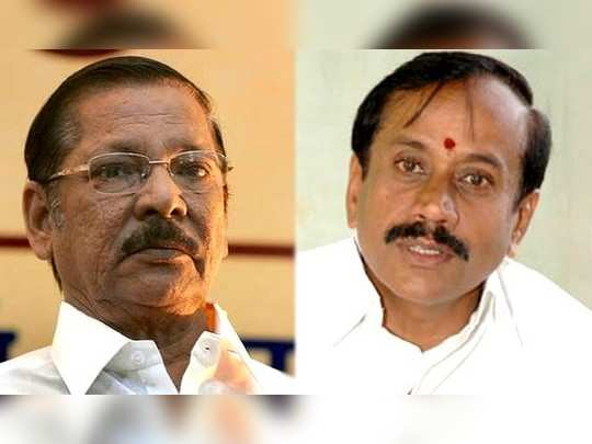 RS Bharathi and H Raja