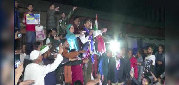 देहरादून: भीम आर्मी चीफ चंद्रशेखर आज़ाद हुए नागरिकता कानून विरोधी प्रदर्शन में शामिल