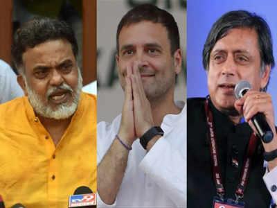 कांग्रेस में गांधी परिवार को लेकर लगातार उठ रहे हैं सवाल