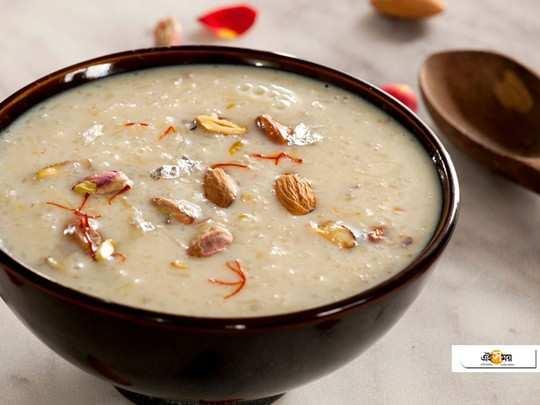 Mahashivratri 2020: break your fast this shivratri with sweet potato kheer