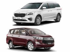 toyota innova crysta vs kia carnival which mpv you should buy specification features price compared