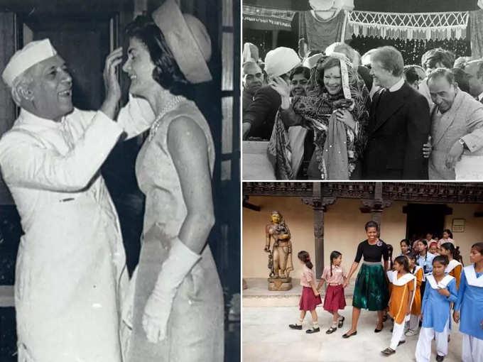 मेलानिया से पहले भारत आ चुकी हैं ये 6 फर्स्ट लेडी