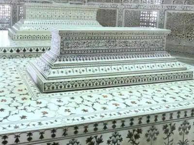 शाहजहां-मुमताज के कब्र की रेप्लिका