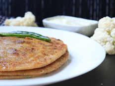 easy to make gobi paratha