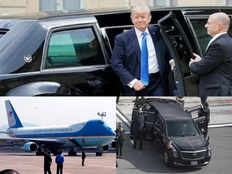 air force one marine one the beast checkout american president donald trumps vehicles for india visit