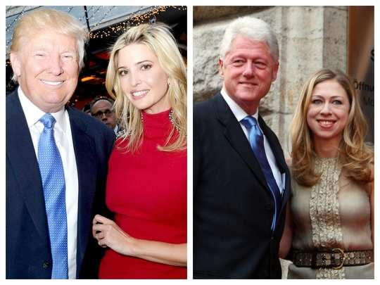 donald trump visit is reminiscent of bill clinton