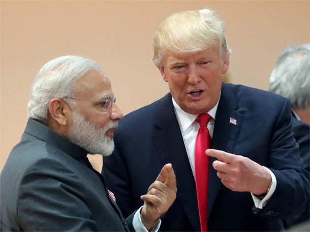 पीएम मोदी और राष्ट्रपति ट्रंप।