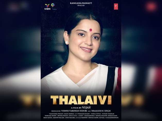 Image result for thalaivi poster