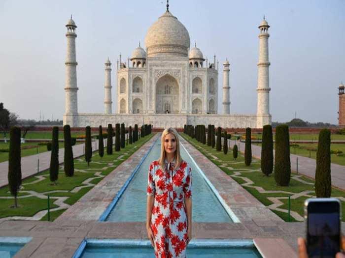 donald trump daughter ivanka trump arrives in india