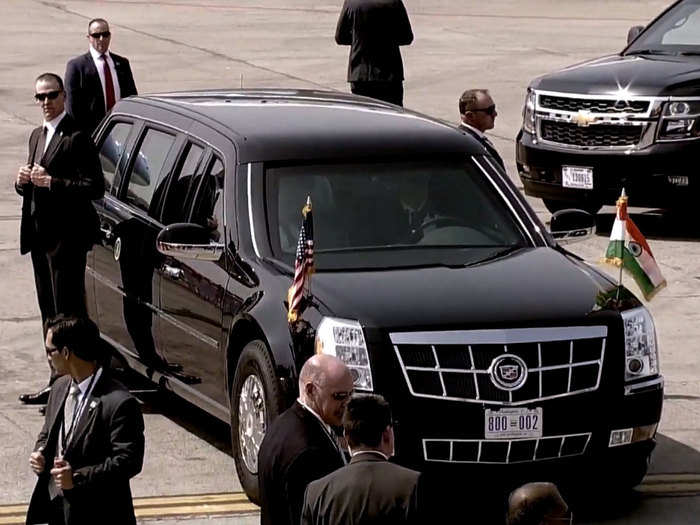 donald trump india visit all you need to know about his the beast car facts and photos
