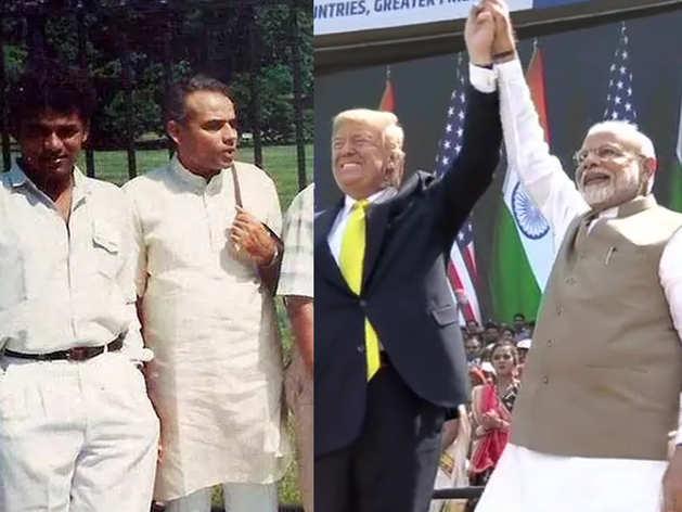 कभी वाइट हाउस घूमने गए थे पीएम नरेंद्र मोदी, आज मिलने आए अमेरिकी राष्ट्रपति