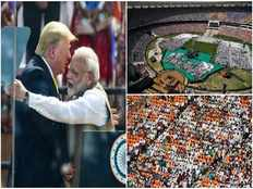 donald trump mentions sachin tendulkar and virat kohli in his speech at motera stadium
