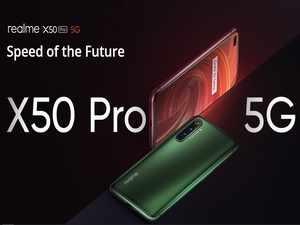 Realme X50 Pro 5G: ಹೊಸ 5G ಫೋನ್ ಬಿಡುಗಡೆ