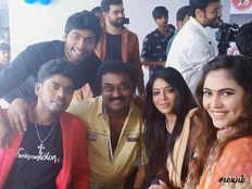 tharshan sherin at sandy masters dance studio inauguration