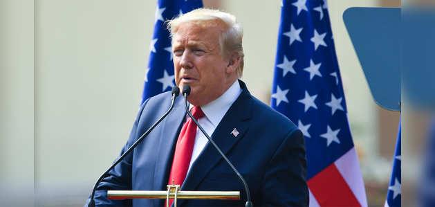 डॉनल्ड ट्रंप ने अमेरिकी दूतावास में भारतीय CEOs को किया संबोधित