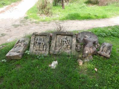 गांव में कई बार मिली हैं काफी पुरानी मूर्तियां
